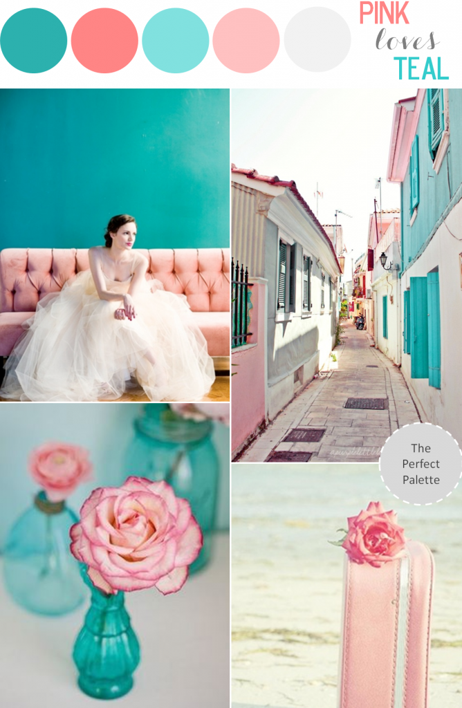 Color Story | Pink Loves Teal | The Perfect Palette