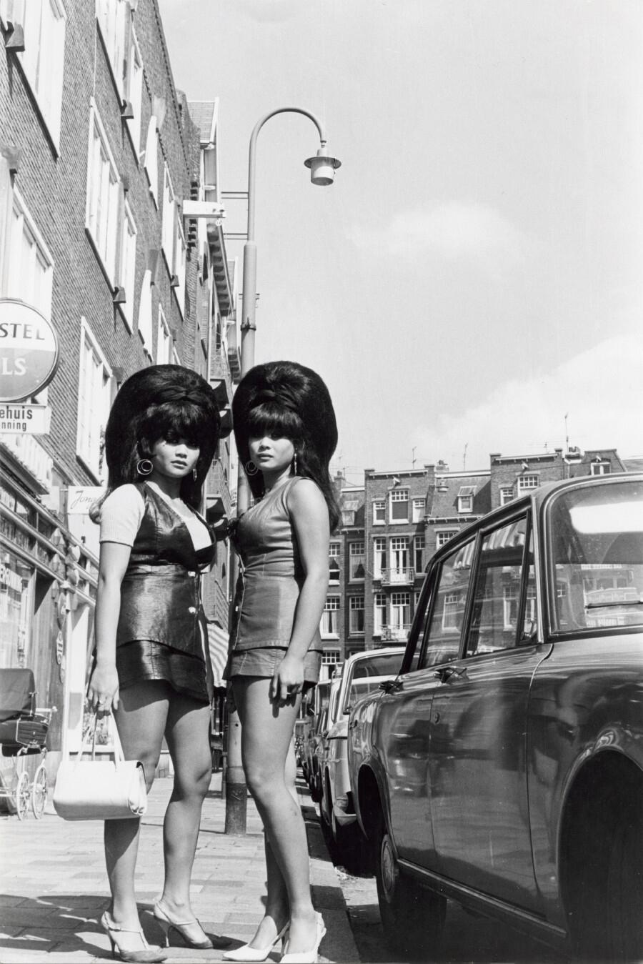 Fashion 1940s Two Female Models Flirty 40s Style Evening: Vintage Everyday: Amsterdam In The 1960s