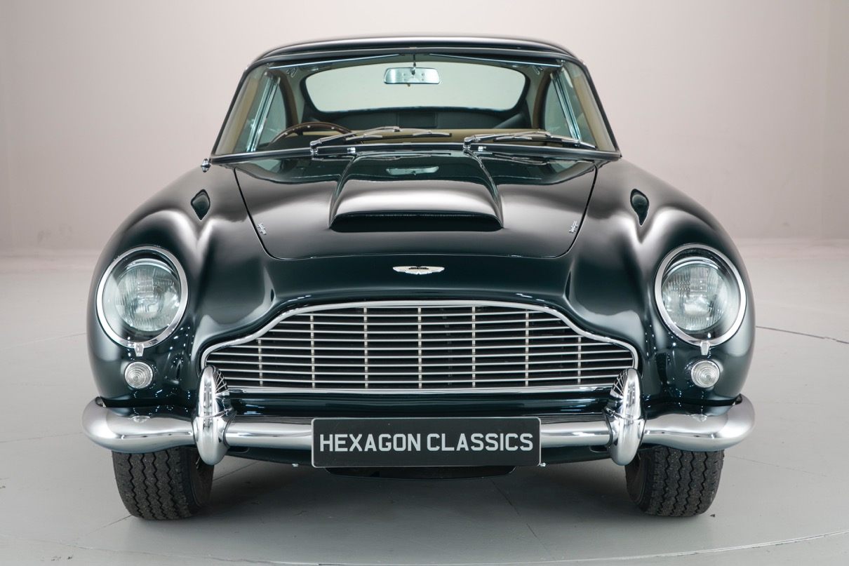 drive like an actual prince in this million dollar aston martin db5 carscoops. Black Bedroom Furniture Sets. Home Design Ideas