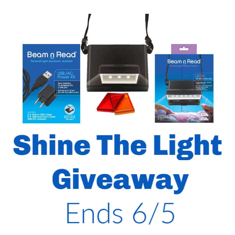 Shine The Light Giveaway