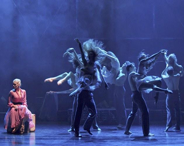 Scottish Ballet A Streetcar Named Desire at Festival Theatre Edinburgh 2015