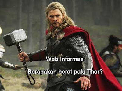 Palu Thor Marvel
