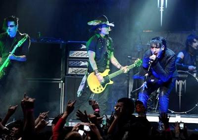 Foto de Marilyn Manson en el escenario