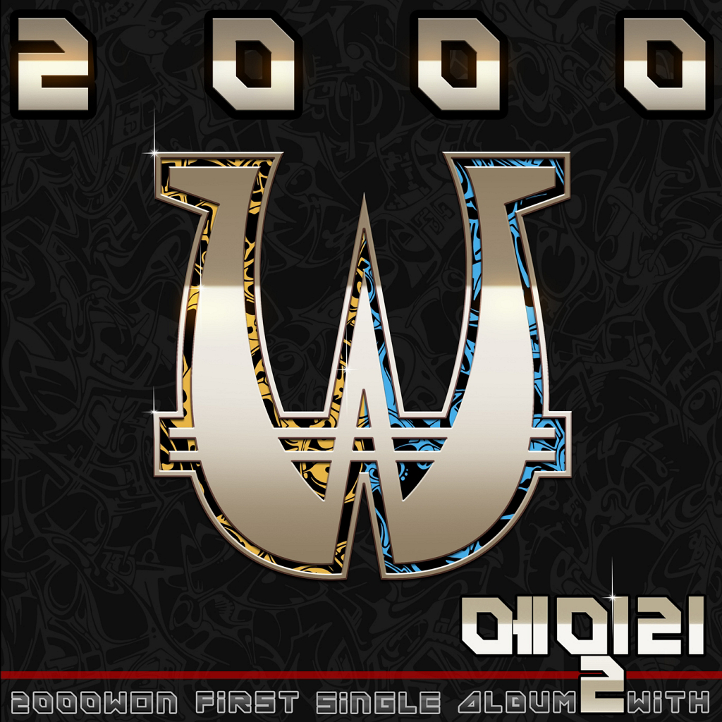 [Single] 2000won (Two Thousand Won) – 2000won 1th Single Album
