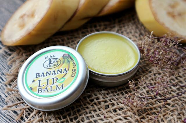 """Be Thanks Banana Lip Balm Натуральный бальзам для губ """"Банан"""""""