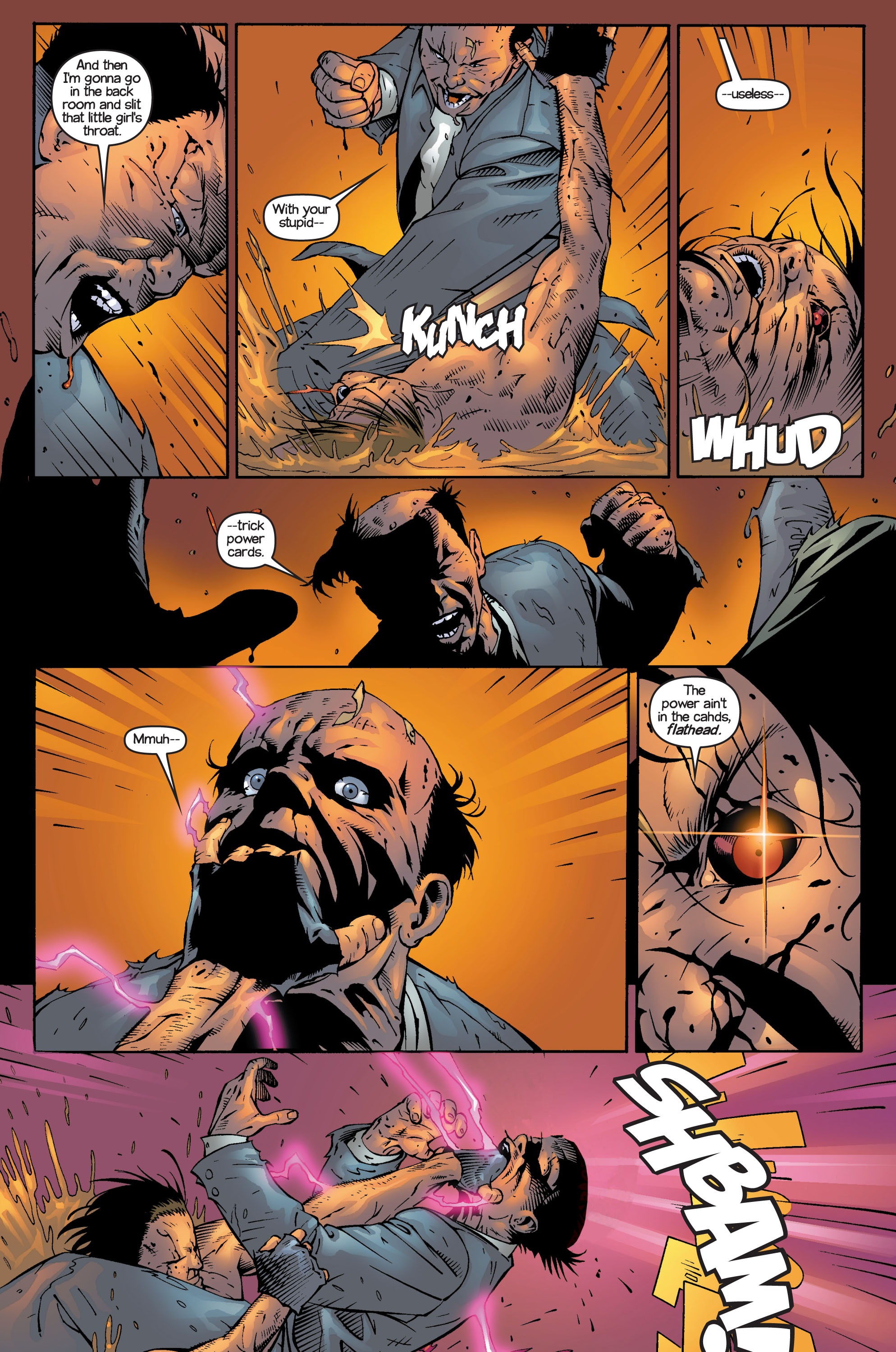 Read online Ultimate X-Men comic -  Issue #14 - 22