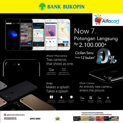 Now 7 Potongan Langsung 2,1 juta di Alfacart – Bank Bukopin