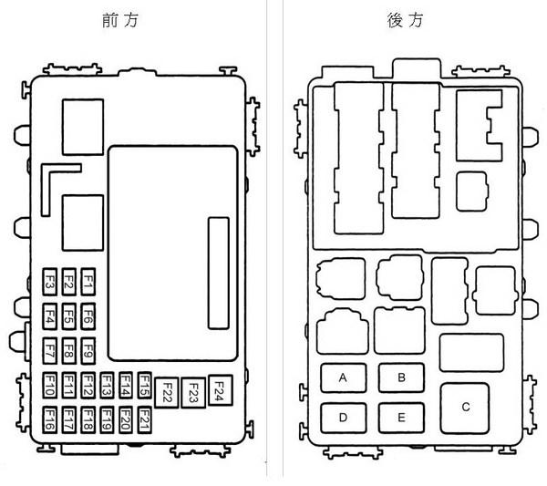 My-Software-Life: Toyota Altis Fuse Set 保險絲盒