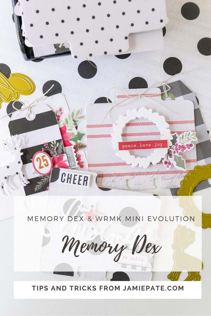 How to use MemoryDex WIth Heidi Swapp WRMK Mini Evolution