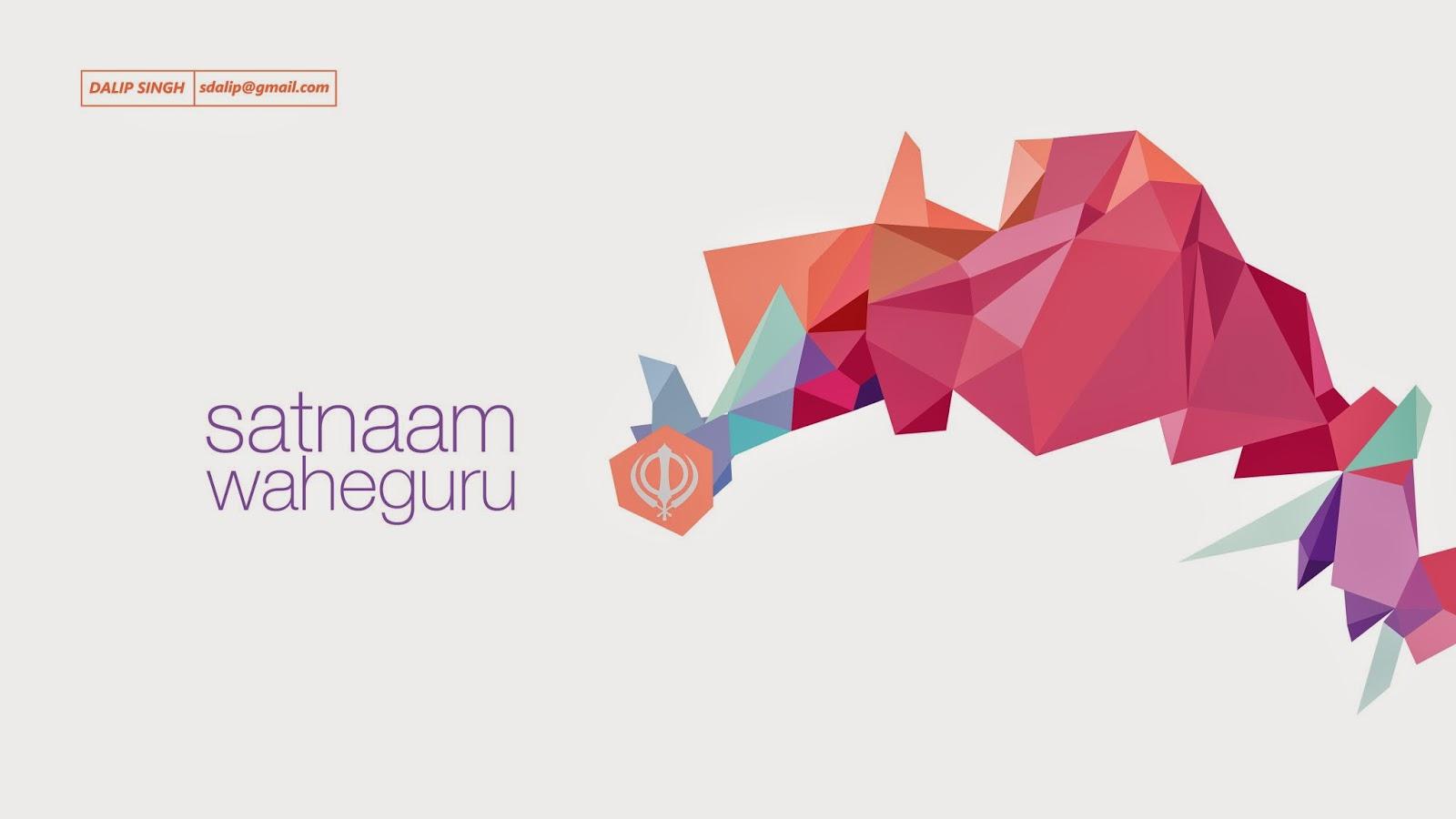 Ek Onkar Hd Wallpaper Satnaam Waheguru Desktop Wallpapers Allaboutsikhi