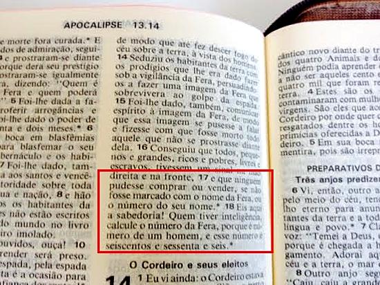 Número da Besta - 666 - Bíblia