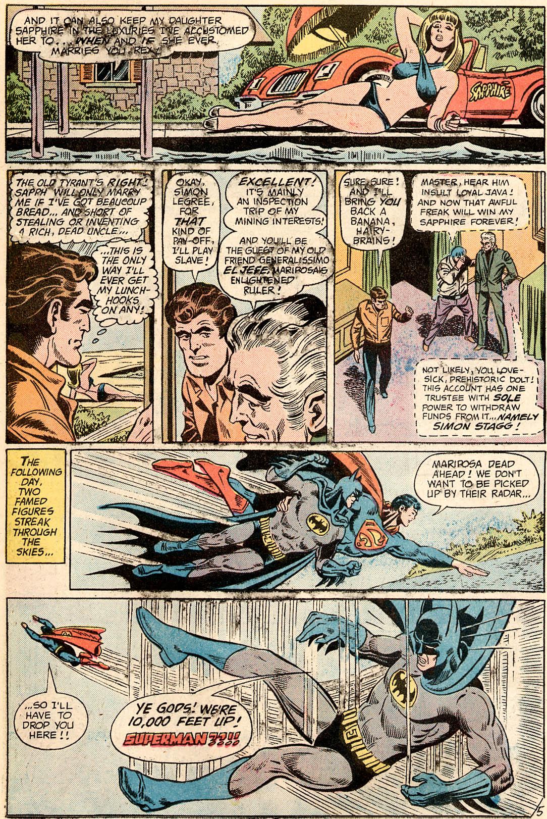 Read online World's Finest Comics comic -  Issue #226 - 7