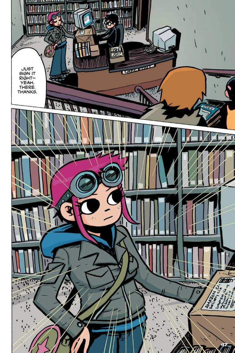 Read online Scott Pilgrim comic -  Issue #1 - 41