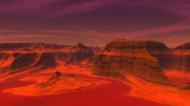 Life on the Red Planet?