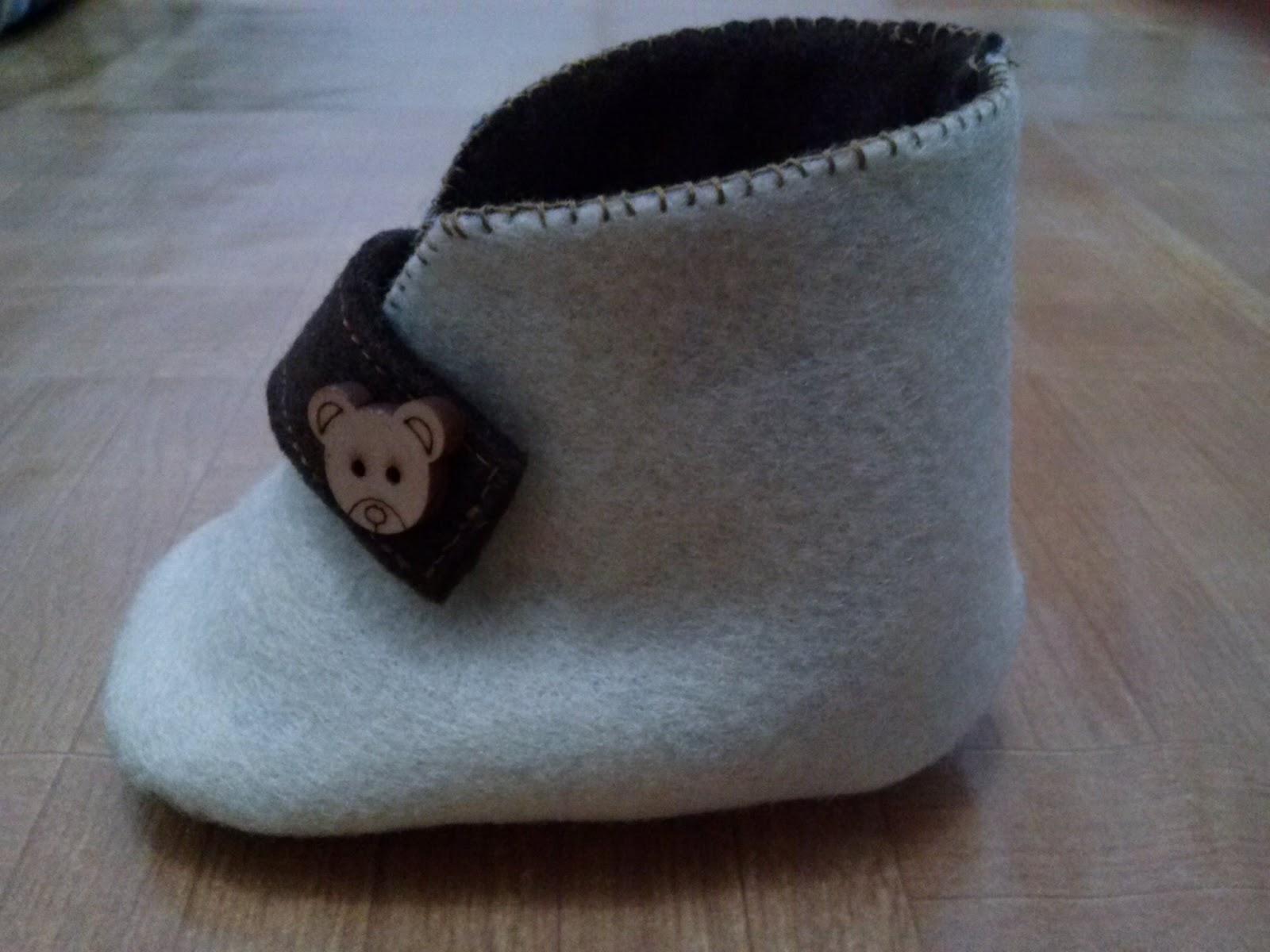 Myheartcom Sepatu Bayi Dari Kain Flanel