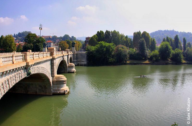 река в Турине