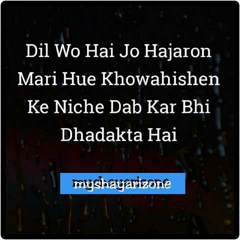 Dil Ki Shayari Hindi Sensitive Image Shayari