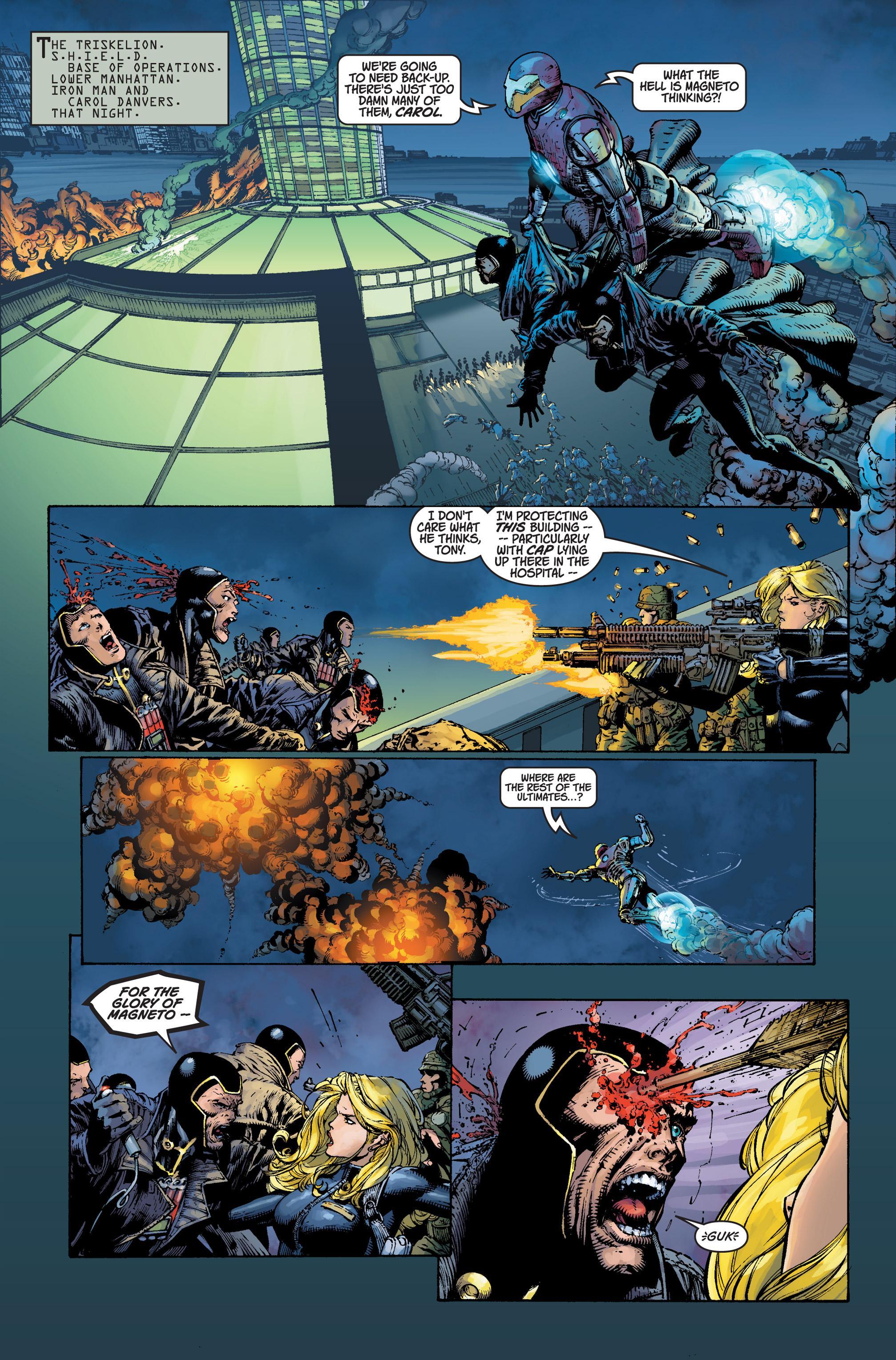 Read online Ultimatum comic -  Issue #3 - 15