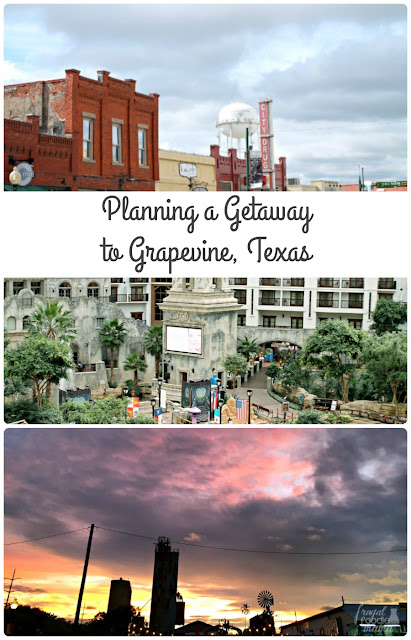 Experience luxury, delicious Texan cuisine, and a brief step back in time in the historic & charming town of Grapevine in North Texas.