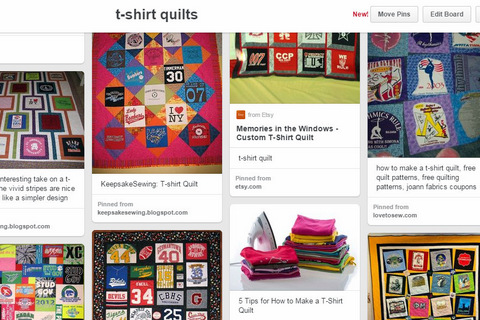 pinterest t-shirt quilt ideas