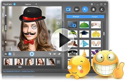 تحميل برنامج YouCam 7 لكاميرات الدردشة الفيديو