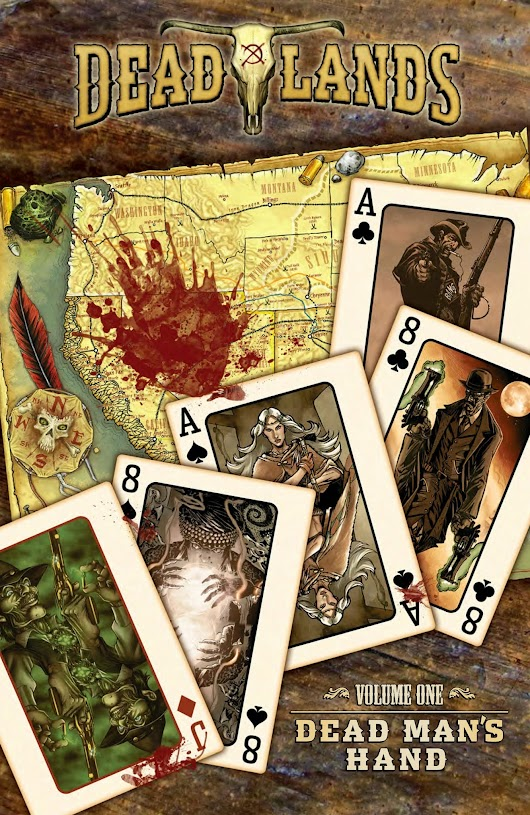 DEADLANDS: DEAD MAN'S HAND ON SALE NOW!