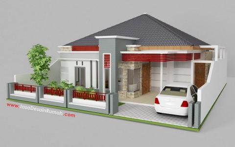 model rumah sederhana minimalis 1