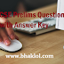 UPSC CSE Prelims Question Paper with Answer Key- 2014 to 2019