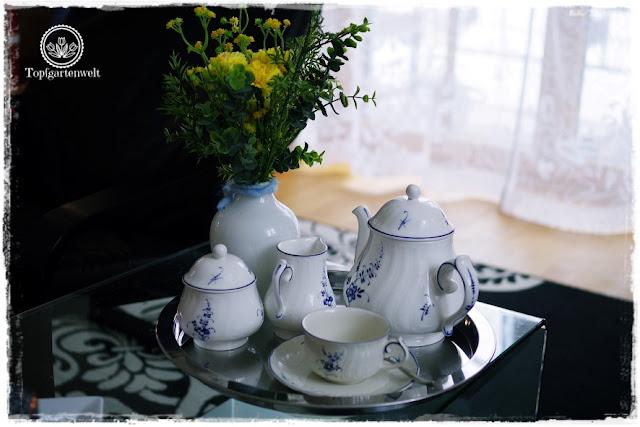 Gartenblog Topfgartenwelt Deko: Teeservice Alt Luxemburg für moderne Wohnung - Deko-Tipps für die Zeit nach Weihnachten