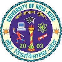 Kota University Time Table 2017