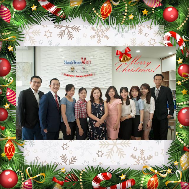 Giáng sinh đầu tiên tại văn phòng mới ở Lexington, Quận 2, tphcm