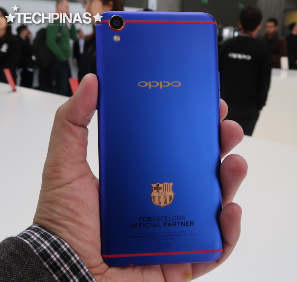 OPPO R9s Blue FC Barcelona Limited Edition
