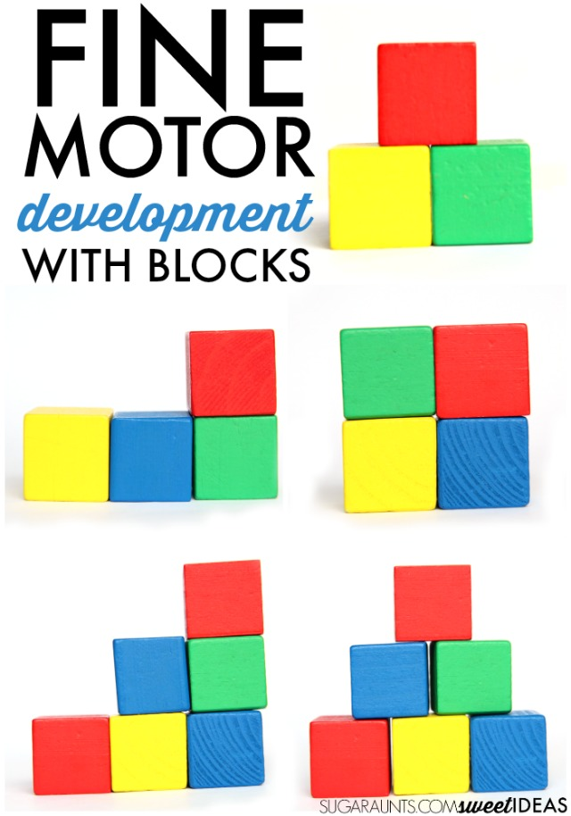 Fine Motor Development With Building Blocks The Ot Toolbox