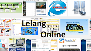 lelang online, e-auction