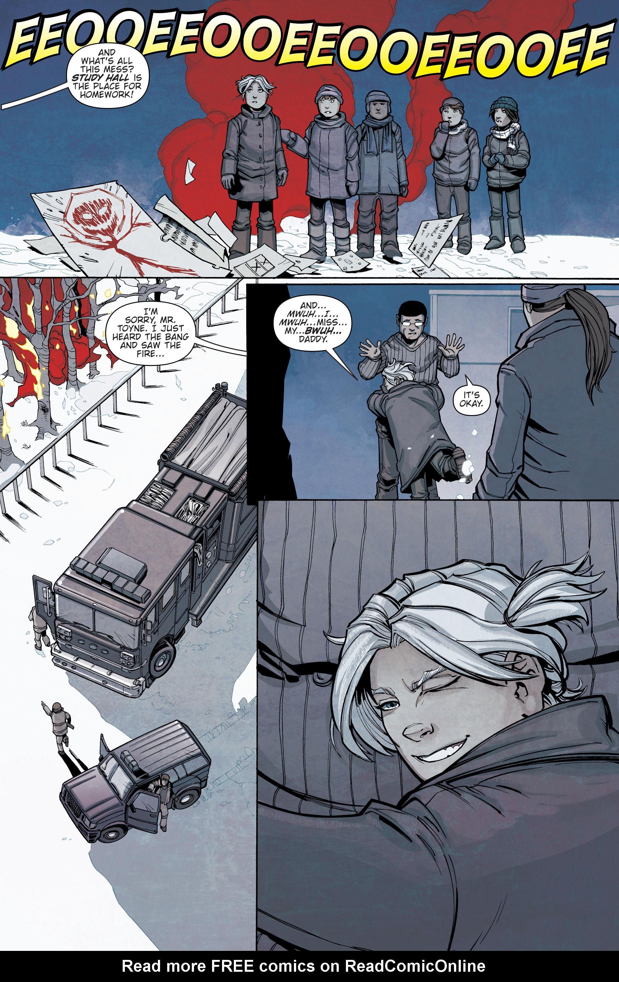 Read online Slash & Burn comic -  Issue #2 - 5
