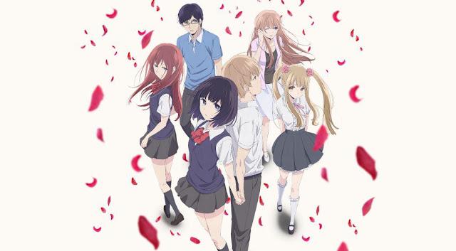 Anime Drama Romance Terbaik - Kuzu no Honkai