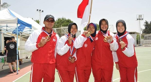 3 Srikandi Atlet Indobatt Harumkan Indonesia di Kancah Internasional