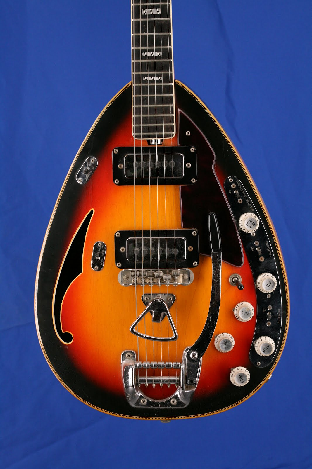 Guitars A Go Go 1968 Vox Starstream