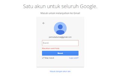 Cara 3 Mudah mengubah Kata Sandi di Email Gmail