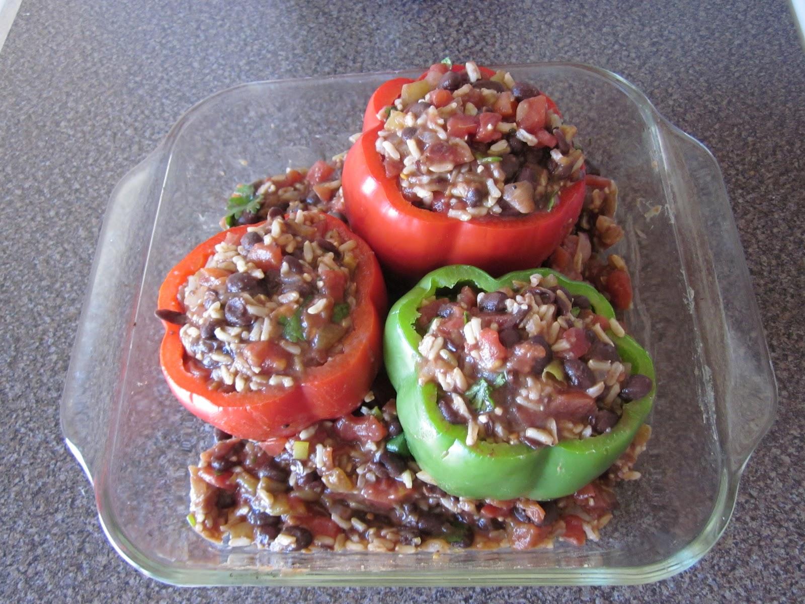 Feeling Good Through Food: Southwest Stuffed Bell Peppers
