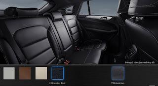 Nội thất Mercedes AMG GLE 43 4MATIC 2016 màu Đen 211