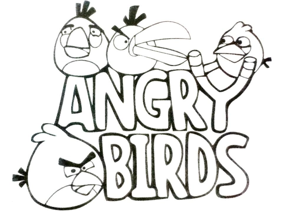 CARIOCASABIONDO: ANGRY BIRDS PARA COLOREAR