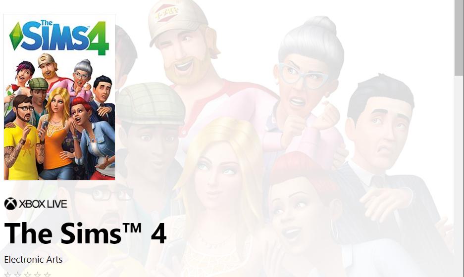 The Sims 4 es listado para Xbox One para el 17 de noviembre
