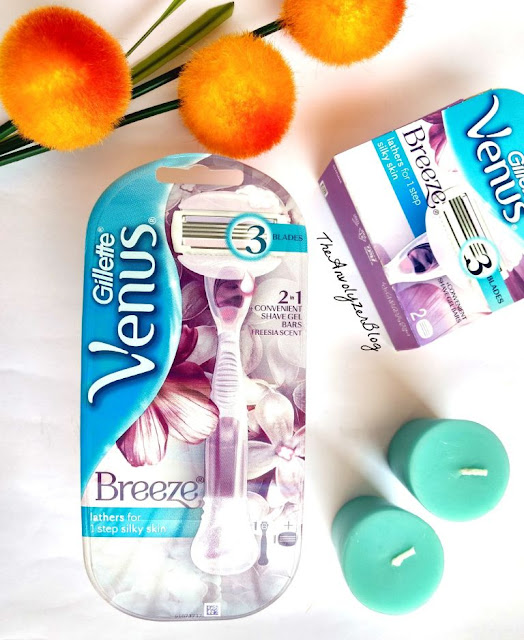 All about - New Gillette Venus Breeze Razor #SubscribeToSmooth