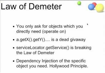 Law Of Demeter In Java Principle Of Least Knowledge Real Life