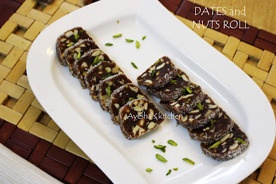 dates roll nuts roll healthy laddoo sugar free