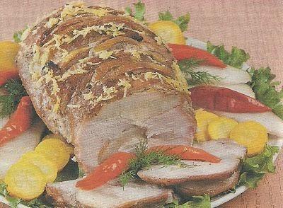 Ингредиенты и способ приготовления острой свиной шейки с грушами