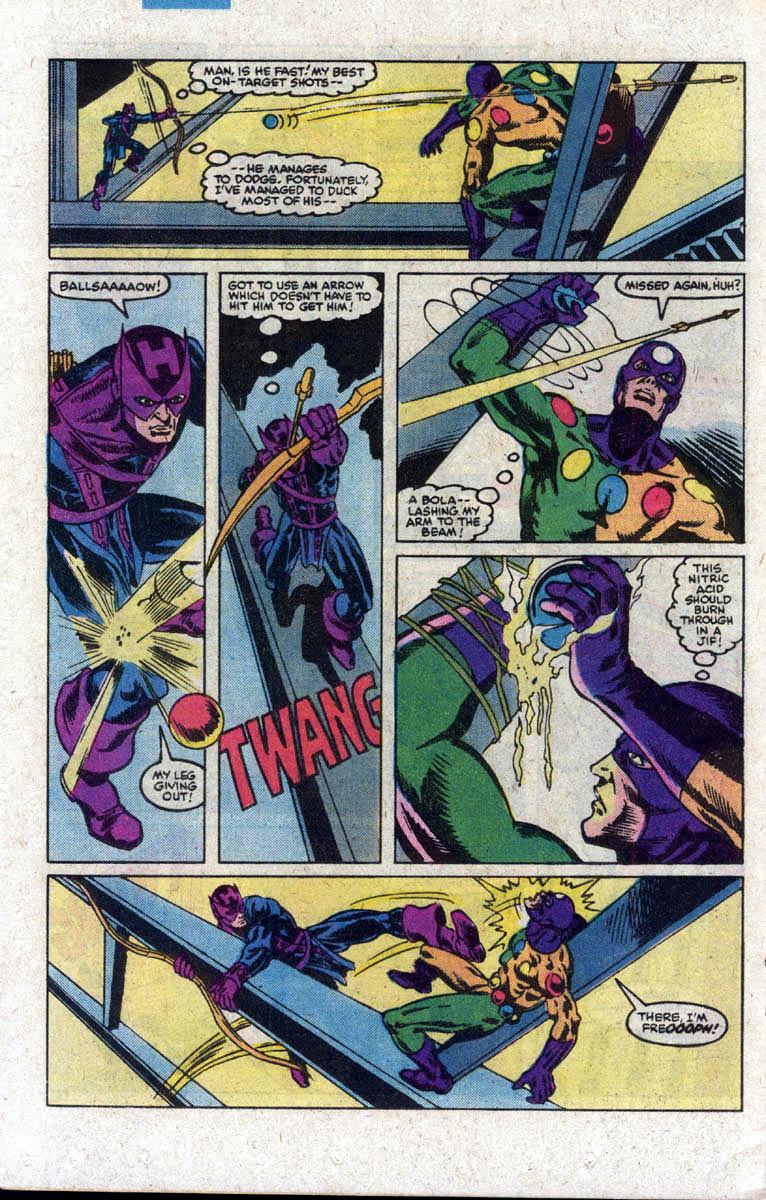Hawkeye (1983) Issue #3 #3 - English 21