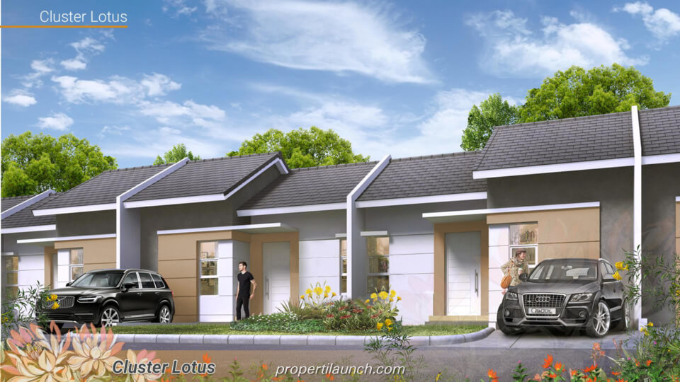 Rumah Cluster Lotus Parung Panjang