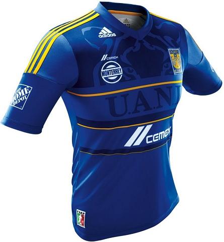 2d3b2c6291 Adidas apresenta a camisa reserva do Tigres UANL do México - Show de ...
